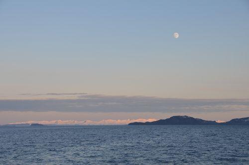 2012.06.01 sunset moon