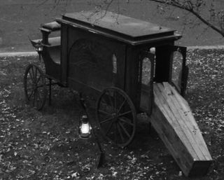 Coffin buggy