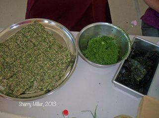 Crackers,-pesto,-leaf-chips