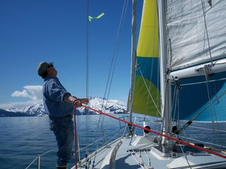 Mark tweaks spinnaker