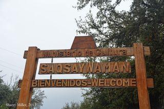 Saqsayhuaman-sign
