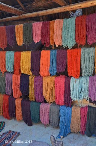 Dyed-yarn