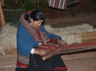 Chinchero-weaver