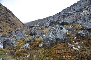 Glacial-moraine