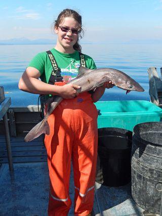 Rowan-with-salmon-shark