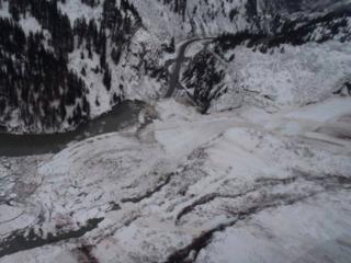 Keystone Canyon Avalanche 01-24-14