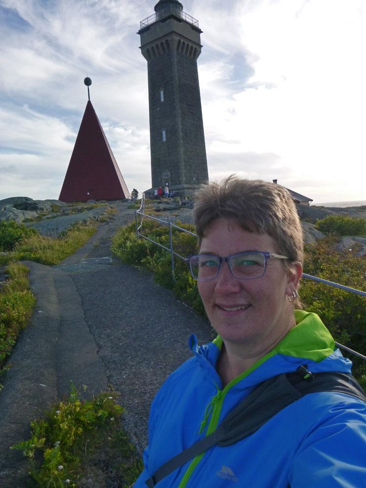 Vinga lighthouse and me